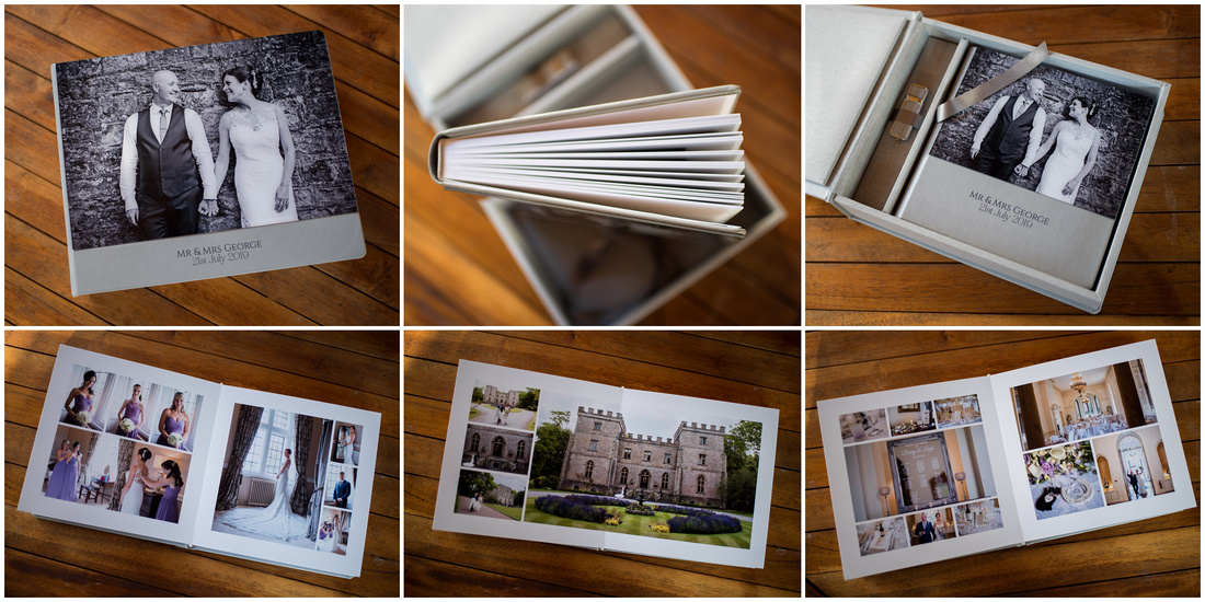 Sample of wedding album from a photographer based in Bedford