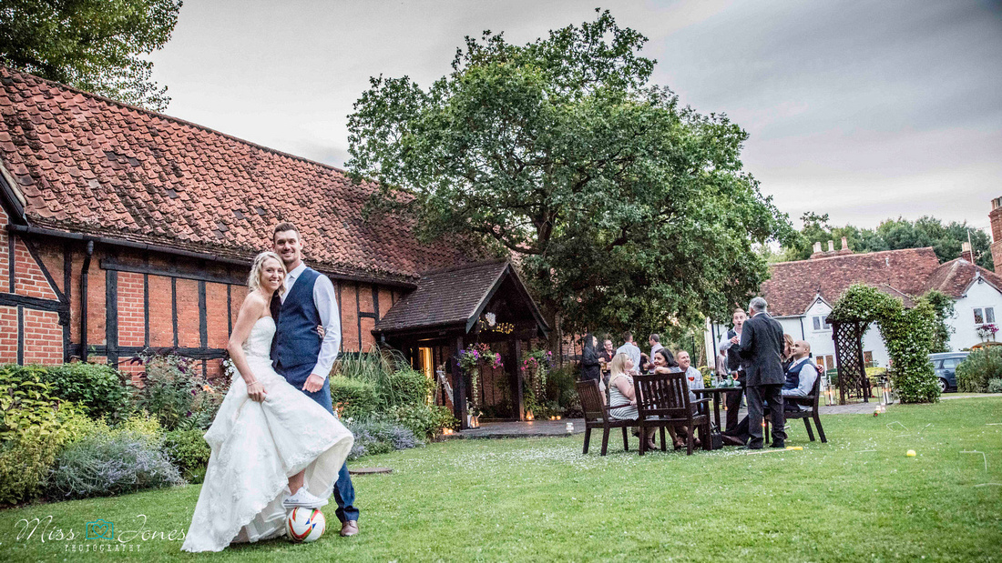 Evening reception at the Barns Hotel Bedford